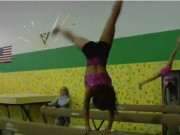 Girls Gymnastics - talented young girls