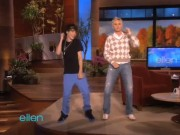 Justin Bieber sits down on the Ellen Show
