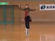 Girl displaying amazing unicycling skills