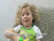 Girl Telling Jokes